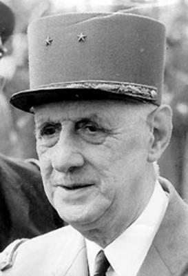 Charles de gaulle 1959